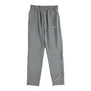 NIKE Sportovní kalhoty  šedá / bílá