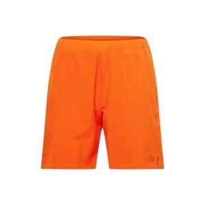 THE NORTH FACE Outdoorové kalhoty  tmavě oranžová