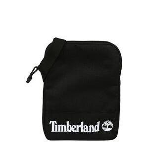 TIMBERLAND Taška přes rameno  černá / bílá