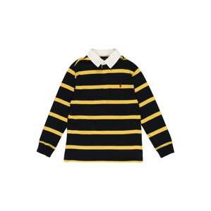 Polo Ralph Lauren Tričko  černá / žlutá