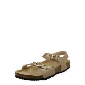 BIRKENSTOCK Sandály 'Rio'  zlatá