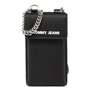 Tommy Jeans Pouzdro na smartphone  černá / bílá