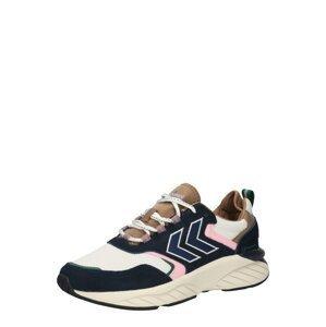 Hummel Sportovní boty 'Marathona Reach'  tmavě modrá / světle hnědá / bílá / světle zelená