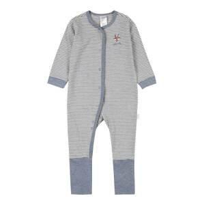 SCHIESSER Pyžamo  béžová / červená / šedá
