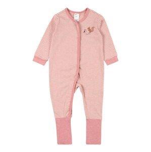 SCHIESSER Pyžamo  bílá / pink / mix barev