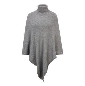 VILA Pláštěnka  šedý melír