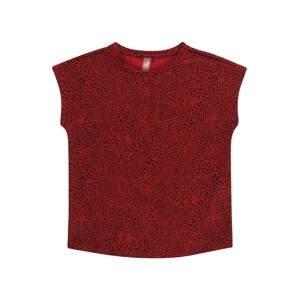 ONLY PLAY Funkční tričko 'AMARU'  tmavě červená / černá