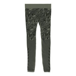 Hummel Sportovní kalhoty 'SPUN'  khaki / černá / olivová