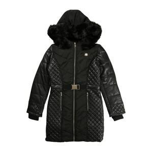 River Island Kabát  černá