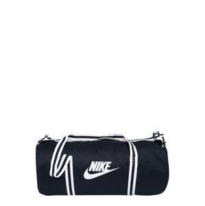 Nike Sportswear Cestovní taška  námořnická modř / bílá