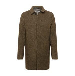 Brixtol Textiles Přechodný kabát 'T-coat'  hnědá