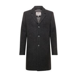 Brixtol Textiles Přechodný kabát 'Ian'  černá