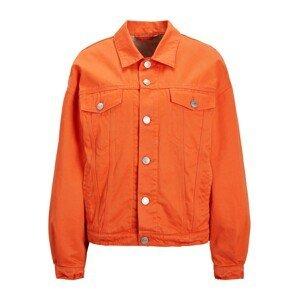 JJXX Přechodná bunda 'JXMOCCA'  oranžově červená