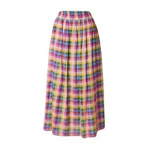 UNITED COLORS OF BENETTON Sukně  světle růžová / chladná modrá / smaragdová / žlutá / tmavě růžová