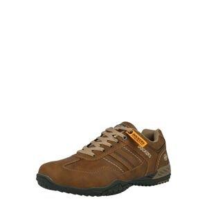 Dockers by Gerli Sportovní šněrovací boty  hnědá