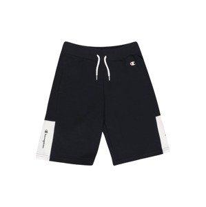 Champion Authentic Athletic Apparel Kalhoty  námořnická modř / bílá / grenadina
