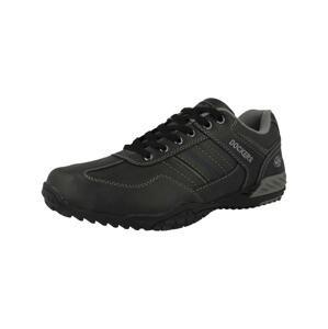Dockers by Gerli Sportovní šněrovací boty '44BN015'  černá / šedá