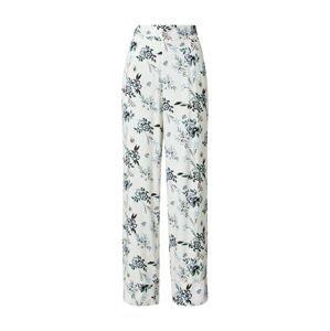 SCHIESSER Pyžamové kalhoty  přírodní bílá / kouřově modrá / tmavě modrá / smaragdová