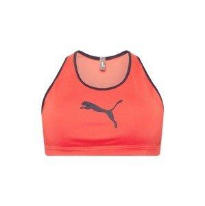 PUMA Sportovní podprsenka  oranžová / noční modrá