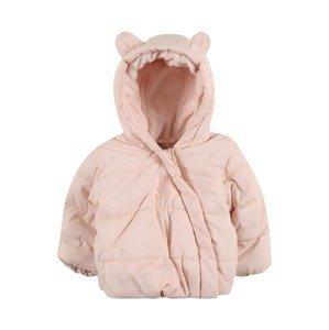 UNITED COLORS OF BENETTON Zimní bunda  růžová