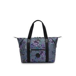 KIPLING Nákupní taška 'ART M PRT AC'  šedá / modrá / fialová / černá