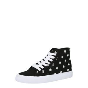 DC Shoes Kotníkové tenisky 'MANUAL'  černá / bílá