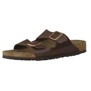 BIRKENSTOCK Pantofle 'Arizona'  hnědá