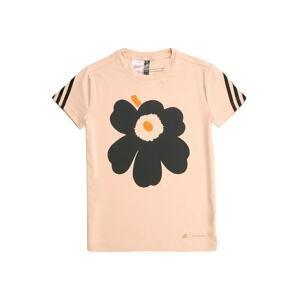 ADIDAS PERFORMANCE Funkční tričko 'Primegreen'  pink / černá / oranžová