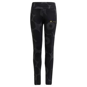ADIDAS PERFORMANCE Sportovní kalhoty 'Marimekko'  černá / antracitová / žlutá