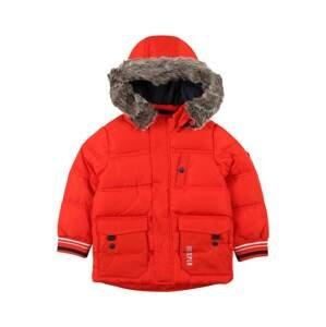 s.Oliver Zimní bunda  červená / světle červená