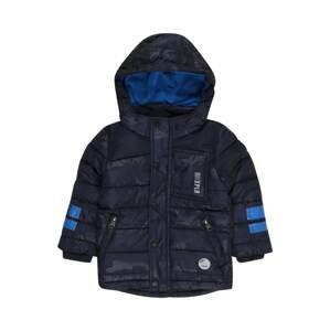 s.Oliver Zimní bunda  tmavě modrá / azurová modrá