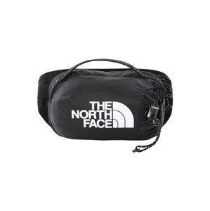 THE NORTH FACE Sportovní ledvinka 'BOZER'  černá / bílá