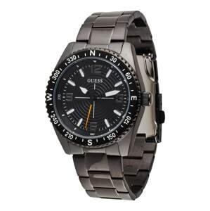 GUESS Analogové hodinky  černá