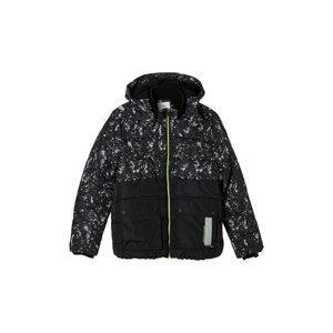 s.Oliver Zimní bunda  černá / mix barev