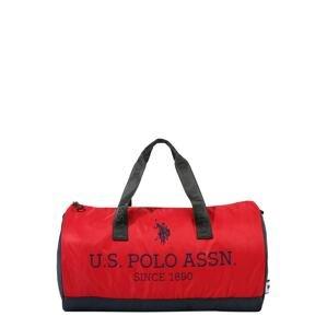 U.S. POLO ASSN. Taška Weekender 'New Bump'  námořnická modř / červená