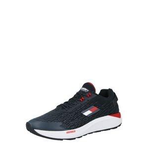 Tommy Sport Sportovní boty  tmavě modrá / bílá / červená