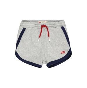 LEVI'S Kalhoty  šedá / námořnická modř / červená
