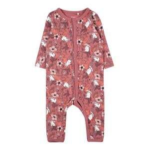 Guppy Pyžamo 'ODA'  růžová / bílá / černá / oranžová