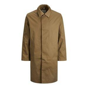 JACK & JONES Přechodný kabát 'BLAHUNT'  hnědá / khaki