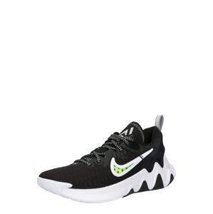 NIKE Sportovní boty 'Gianni'  bílá / svítivě žlutá / černá