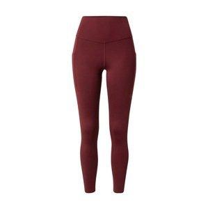 THE NORTH FACE Outdoorové kalhoty  tmavě červená