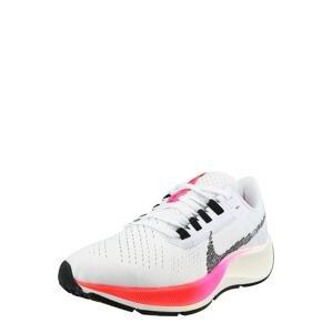 NIKE Běžecká obuv 'Pegasus 38'  černá / pink / bílá / červená