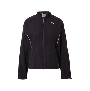 PUMA Sportovní bunda  černá