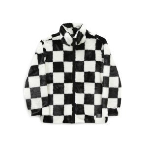 VANS Přechodná bunda  černá / bílá