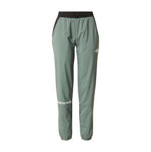 THE NORTH FACE Sportovní kalhoty  smaragdová / bílá / černá