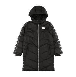 LEVI'S Kabát  černá / bílá
