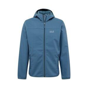 JACK WOLFSKIN Outdoorová bunda 'NORTHERN POINT'  kouřově modrá