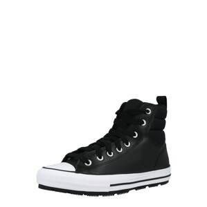 CONVERSE Kotníkové tenisky  černá / bílá