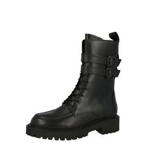 Marc O'Polo Šněrovací boty  černá