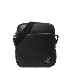 Calvin Klein Jeans Taška přes rameno  černá